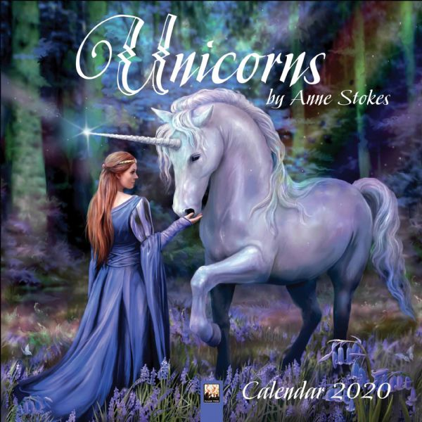 ANNE STOKES Official Magical Unicorns Calendar 2020